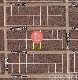 0 Avenue 21, Mojave, CA 93501 (#SR20011190) :: The Pratt Group
