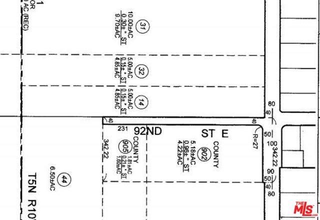 0 Vac/Cor Avenue U/92Nd St, Littlerock, CA 93543 (#20-555920) :: Randy Plaice and Associates