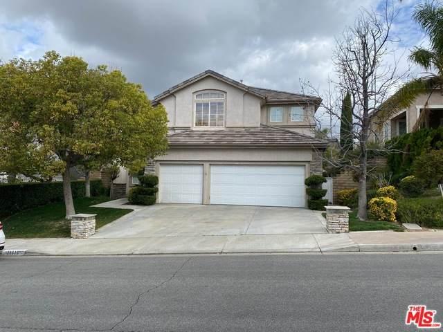 23515 Summerglen Pl, Valencia, CA 91354 (#20-560110) :: Randy Plaice and Associates