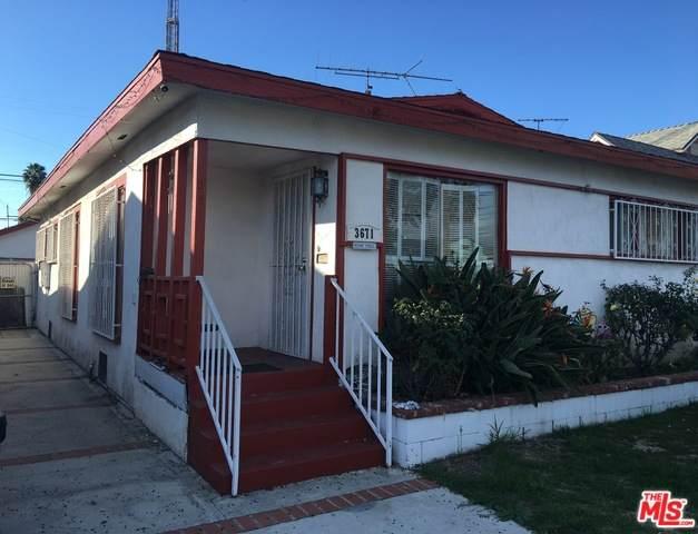 3671 Cimarron St, Los Angeles, CA 90018 (MLS #20-562470) :: The Sandi Phillips Team