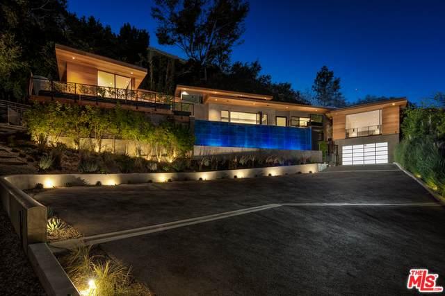 727 N Beverly Glen, Los Angeles, CA 90077 (MLS #20-564296) :: The Jelmberg Team
