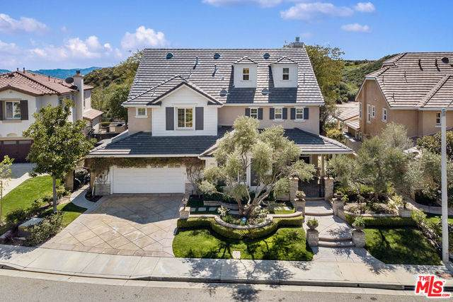 24412 Gable Ranch Ln, Valencia, CA 91354 (#20-572368) :: Randy Plaice and Associates
