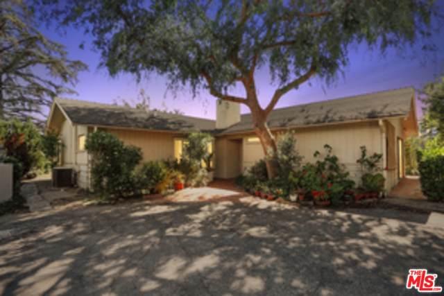 4092 Deervale Dr, Sherman Oaks, CA 91403 (#20-575726) :: Randy Plaice and Associates