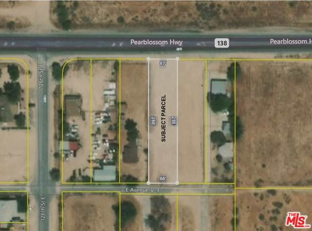 0 126 E And Pearblossom Highway 138, Pearblossom, CA 93553 (#20-578172) :: The Pratt Group