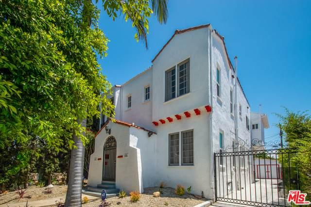 1524 S Burnside Ave, Los Angeles, CA 90019 (#20-582398) :: The Pratt Group