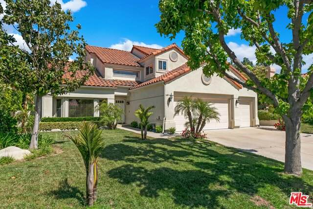 756 Cedar Point Pl, Westlake Village, CA 91362 (#20-586386) :: Randy Plaice and Associates