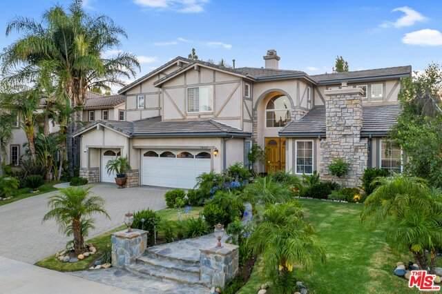 10461 Amberwood Ln, PORTER RANCH, CA 91326 (#20-594244) :: Berkshire Hathaway HomeServices California Properties