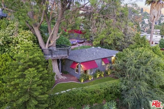 1402 Sanborn Ave, Los Angeles, CA 90027 (#20-596342) :: The Pratt Group
