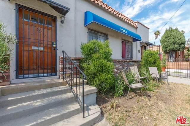 5347 Fountain Ave, Los Angeles, CA 90029 (#20-597044) :: Randy Plaice and Associates