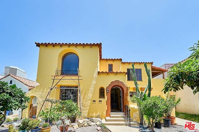 816 S Curson Ave, Los Angeles, CA 90036 (#20-597074) :: Randy Plaice and Associates