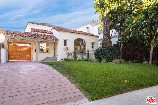 421 S Wetherly Dr, Beverly Hills, CA 90211 (#20-600896) :: The Suarez Team