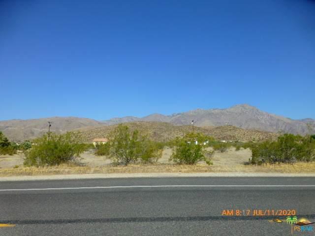 0 Borrego Springs Rd, Borrego Springs, CA 92004 (#20-602310) :: The Pratt Group