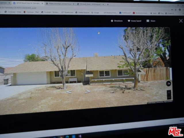 38734 Desert View Dr, Palmdale, CA 93551 (#20-603192) :: Randy Plaice and Associates
