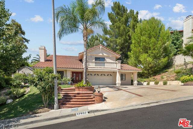 17407 Rainbow Ridge Cir, Granada Hills, CA 91344 (#20-613866) :: Randy Plaice and Associates