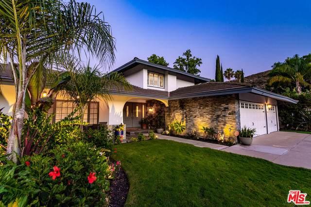 1662 Oldcastle Pl, Westlake Village, CA 91361 (#20-616724) :: Compass