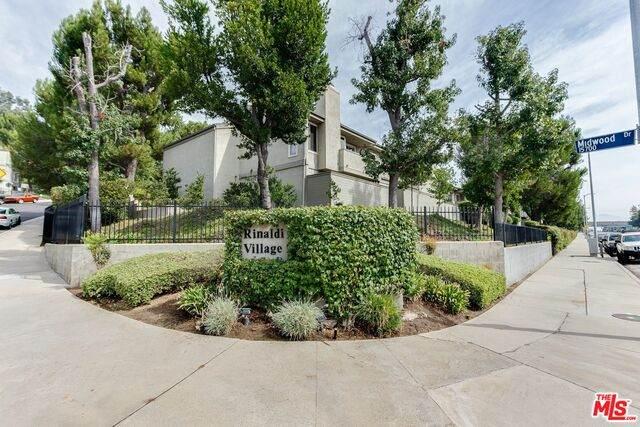 15786 Midwood Dr #5, Granada Hills, CA 91344 (#20-627418) :: Compass