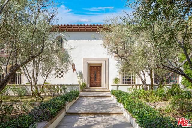 703 N Arden Dr, Beverly Hills, CA 90210 (#20-637726) :: Compass