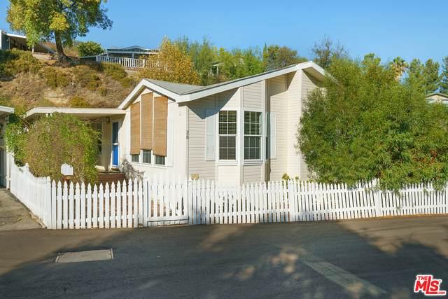 4201 Topanga Canyon Blvd #28, Woodland Hills, CA 91364 (#20-642444) :: The Pratt Group