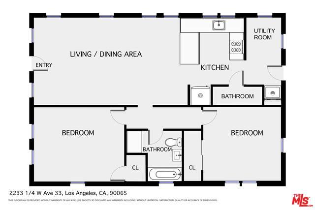 2233 W Avenue 33 1/4, Los Angeles, CA 90065 (#20-642780) :: TruLine Realty