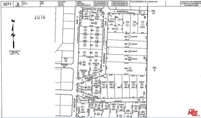 0 Garfield St, Castaic, CA 91384 (#20-645708) :: Randy Plaice and Associates