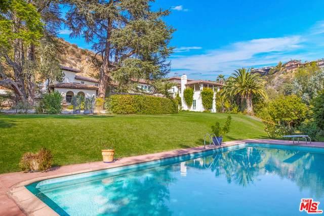 9641 Royalton Dr, Beverly Hills, CA 90210 (#20-647484) :: Randy Plaice and Associates
