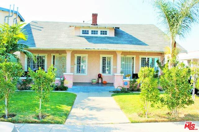 2017 S Palm Grove Ave, Los Angeles, CA 90016 (#20-647714) :: The Parsons Team
