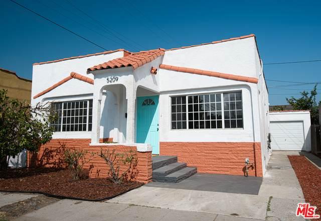 5209 Blackwelder St, Los Angeles, CA 90016 (#20-649464) :: The Parsons Team