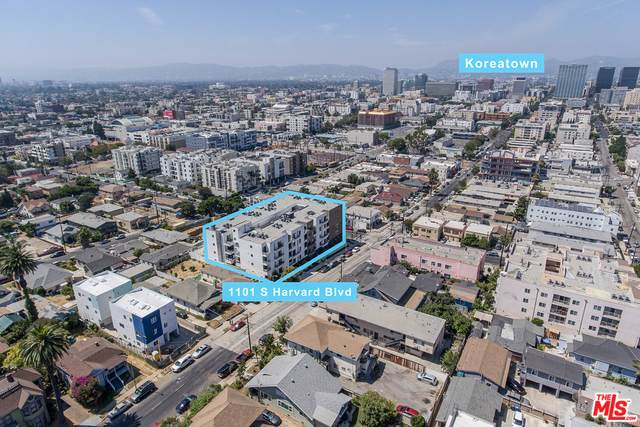 1101 S Harvard Blvd #202, Los Angeles, CA 90006 (#20-652434) :: Berkshire Hathaway HomeServices California Properties