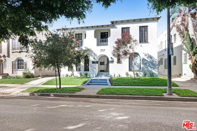 337 N Curson Ave, Los Angeles, CA 90036 (#20-652816) :: Arzuman Brothers