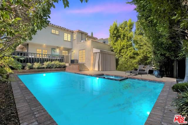 324 S Roxbury Dr, Beverly Hills, CA 90212 (#20-653518) :: Compass
