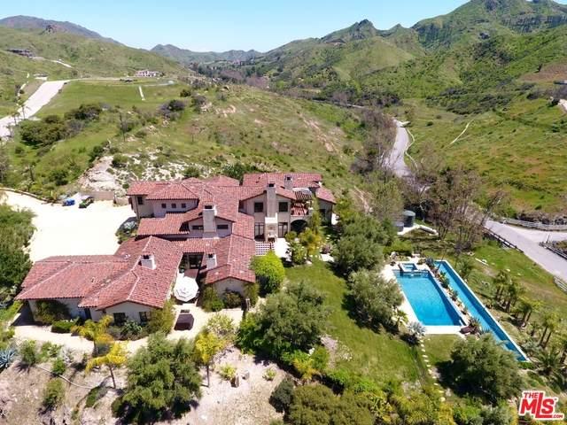 31823 Lobo Canyon Rd, Agoura Hills, CA 91301 (#20-659138) :: TruLine Realty