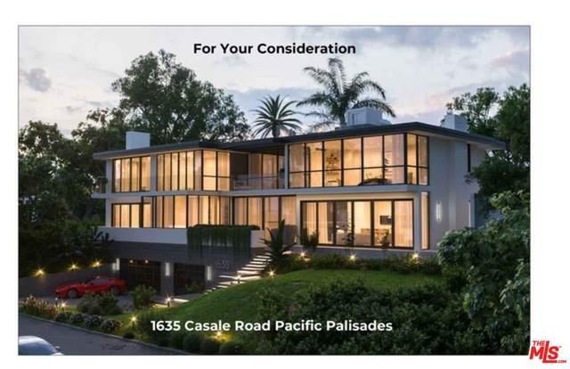 1635 Casale Rd, Pacific Palisades, CA 90272 (#20-659218) :: The Suarez Team