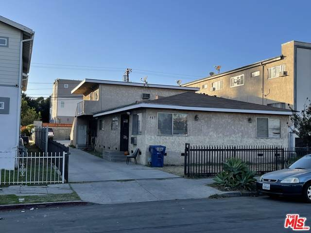817 N Kingsley Dr, Los Angeles, CA 90029 (#20-663306) :: The Grillo Group