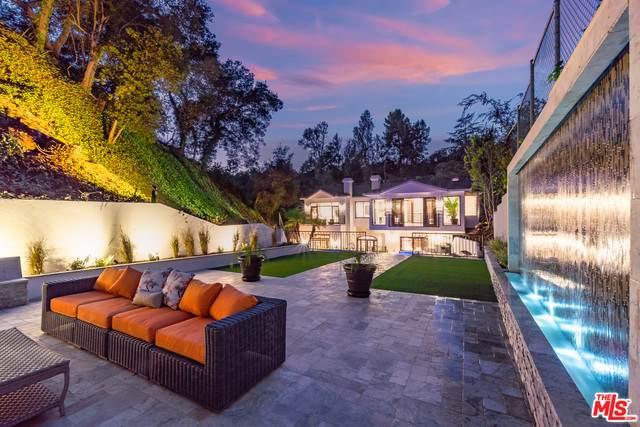2650 Hutton Dr, Beverly Hills, CA 90210 (#20-664686) :: The Pratt Group