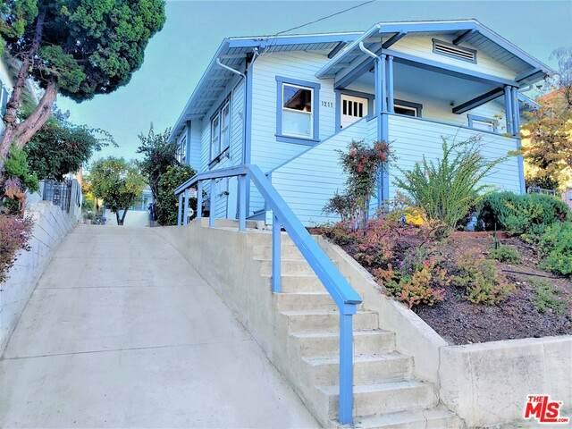 1211 N Waterloo St, Los Angeles, CA 90026 (#21-679142) :: Randy Plaice and Associates