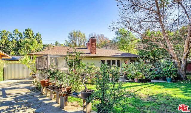 3721 Woodcliff Rd, Sherman Oaks, CA 91403 (#21-679740) :: TruLine Realty