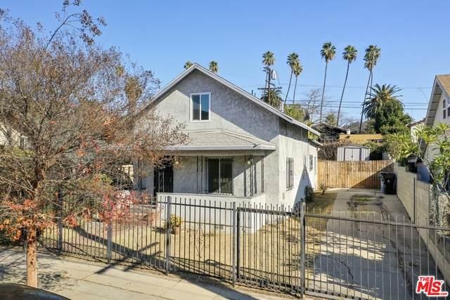 1238 N Virgil Ave, Los Angeles, CA 90029 (#21-680486) :: The Pratt Group