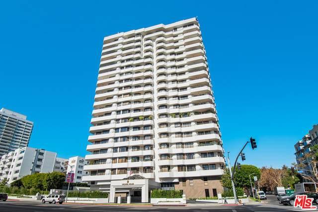10601 Wilshire #703, Los Angeles, CA 90024 (#21-680830) :: HomeBased Realty
