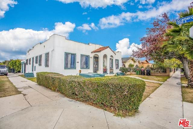 1763 W 38Th St, Los Angeles, CA 90062 (#21-681146) :: TruLine Realty