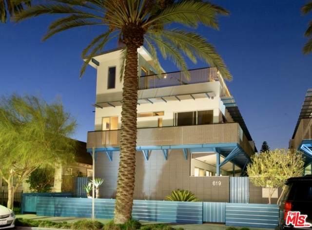 619 San Juan Ave B, Venice, CA 90291 (#21-681354) :: The Pratt Group