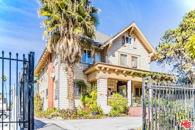 669 S Burlington Ave, Los Angeles, CA 90057 (#21-682198) :: The Parsons Team