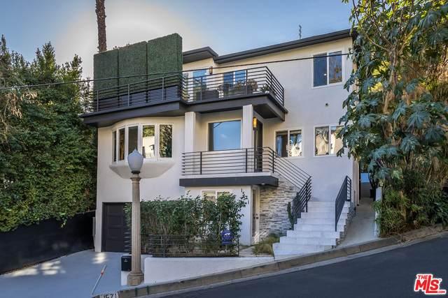 1571 Queens Rd, Los Angeles, CA 90069 (#21-684198) :: HomeBased Realty