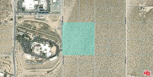 0 Mojave Ranch Rd, Joshua Tree, CA 92252 (#21-685212) :: Berkshire Hathaway HomeServices California Properties