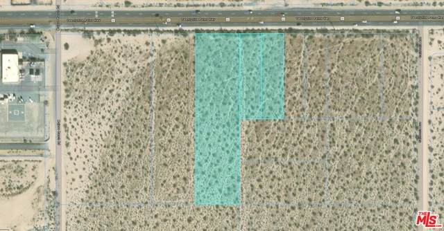63793 Twentynine Palms Hwy, Joshua Tree, CA 92252 (#21-685216) :: Berkshire Hathaway HomeServices California Properties