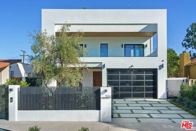 506 N Gardner St, Los Angeles, CA 90036 (MLS #21-685612) :: The John Jay Group - Bennion Deville Homes