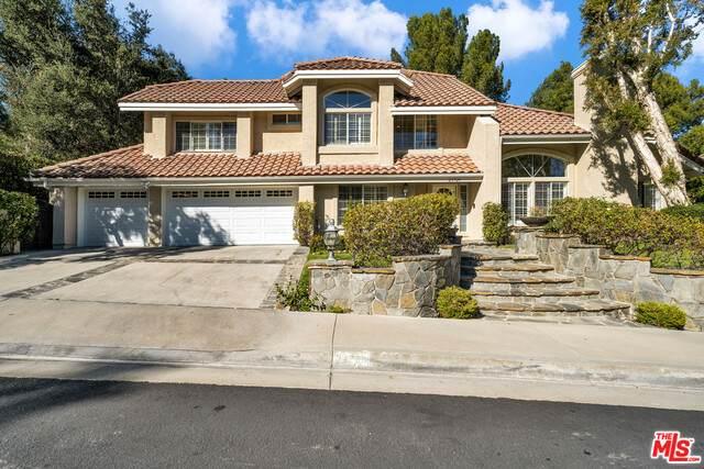 24725 Avenida Asoleada, Calabasas, CA 91302 (#21-691148) :: Randy Plaice and Associates