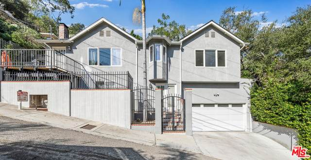 1551 Crater Ln, Los Angeles, CA 90077 (MLS #21-691964) :: The Jelmberg Team