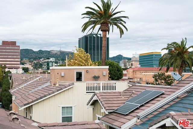 6515 La Mirada Ave, Los Angeles, CA 90038 (#21-696614) :: Berkshire Hathaway HomeServices California Properties