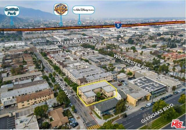1063 Justin Ave, Glendale, CA 91201 (#21-700056) :: The Grillo Group
