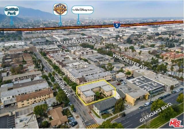 1063 Justin Ave, Glendale, CA 91201 (#21-700056) :: Berkshire Hathaway HomeServices California Properties